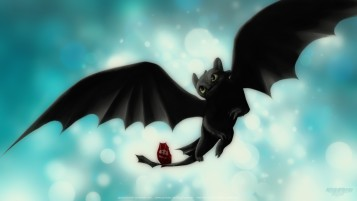 Night Fury \ Toothless wallpapers and stock photos