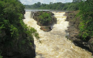 Kembe Falls Central African wallpapers and stock photos