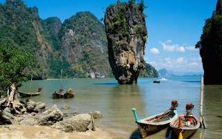 Phang-Nga Bay wallpapers and stock photos