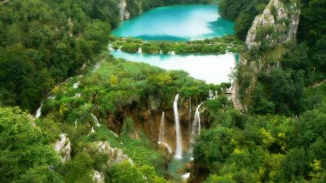 Plitvice Waterfalls wallpapers and stock photos