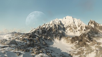 Random: Snowy Mountain