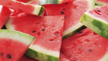 Watermelon Slices wallpapers and stock photos