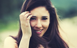 Smiling Girl wallpapers and stock photos