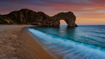 Durdle Door Coast Four wallpapers and stock photos
