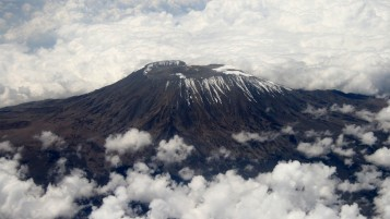Mount Kilimanjaro Two wallpapers and stock photos