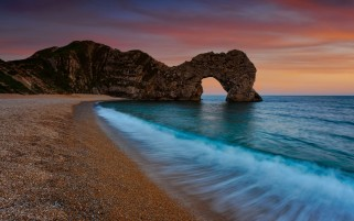 Durdle Door Coast Deep wallpapers and stock photos
