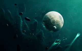 Planets Moon & Asteroids wallpapers and stock photos