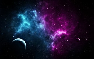 Nebula Stars & Planets wallpapers and stock photos