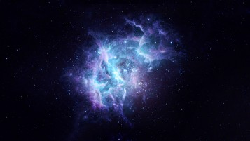 Abstract Space Blue & Purple wallpapers and stock photos