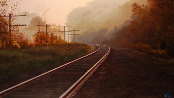 Random: Autumn & Rail Road