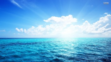 Sunlight Sea wallpapers and stock photos