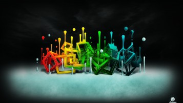 Colorful Cubes wallpapers and stock photos
