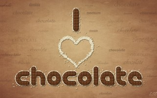 I Love Chocolate wallpapers and stock photos