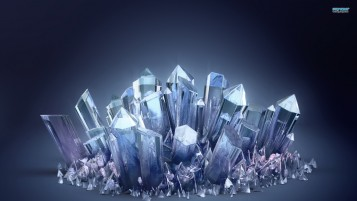 Crystals wallpapers and stock photos