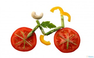 Vegetables Bicycle wallpapers and stock photos