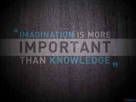 Random: Imagination Important