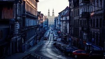 View from Poznan Poland wallpapers and stock photos