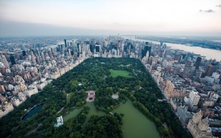 Central Park View wallpapers and stock photos