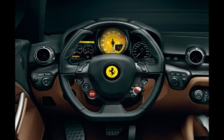 Ferrari F12 Berlinetta Interior wallpapers and stock photos