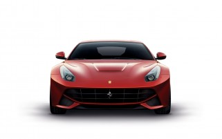 Ferrari F12 Berlinetta vorne wallpapers and stock photos