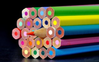 Sharp Color Pencils wallpapers and stock photos