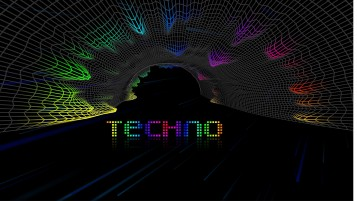 Techno Three wallpapers and stock photos