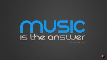 Music Is The Answer wallpapers and stock photos