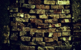 Brick Wall Pattern Decay Ruin wallpapers and stock photos