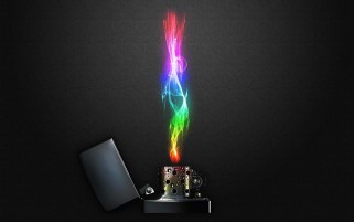 Colorful Flame Zippo wallpapers and stock photos