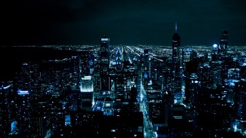 Chicago at Night wallpapers and stock photos