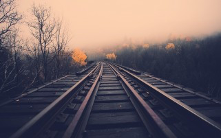 Dark Rails wallpapers and stock photos
