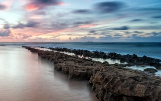 Piedras Impresionante Ocean & Sky wallpapers and stock photos