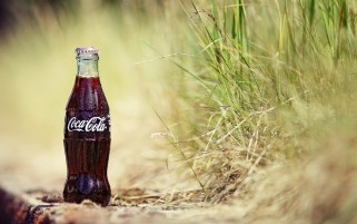 Bottle of Coke wallpapers and stock photos