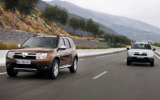 Testing Dacia Duster wallpapers and stock photos