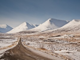Mountain Ice Land Road Europe wallpapers and stock photos