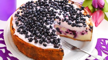 Blueberries Cake wallpapers and stock photos