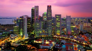 Singapore Cityscape wallpapers and stock photos