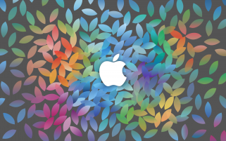 Apple October Keynote wallpapers and stock photos