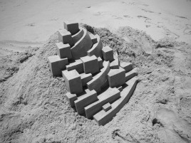 Geometric Sand Castle Eight wallpapers and stock photos