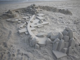 Random: Geometric Sand Castle Ten