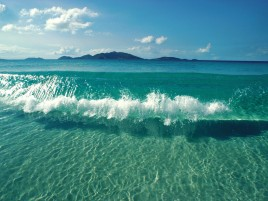 Blue Beach Transparent Water wallpapers and stock photos