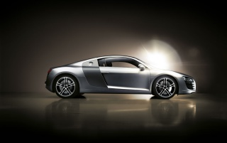 Audi R8 right side wallpapers and stock photos