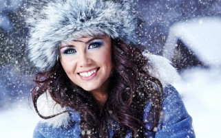 Miss Snowflake wallpapers and stock photos