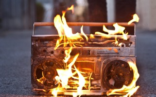 Stereo on Fire wallpapers and stock photos
