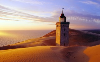 Random: Light House Desert & Ocean