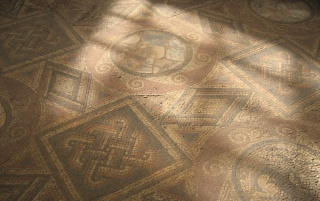 Sabratha mosaic wallpapers and stock photos