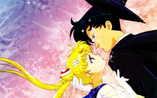 Sailor Moon Four wallpapers and stock photos