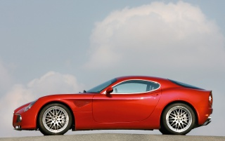 Alfa Romeo 8C wallpapers and stock photos