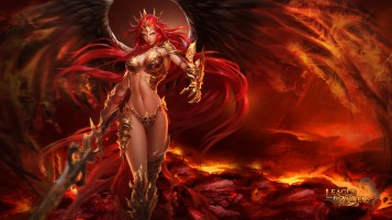 League of Angels - Amora wallpapers and stock photos