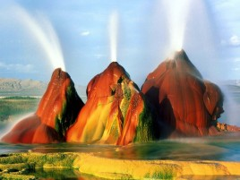 Black Rock Desert Geysir wallpapers and stock photos
